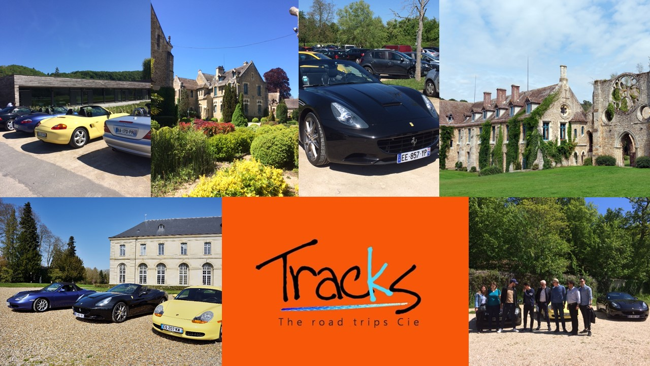 TRACKS EVENT our new partner in France for VINTAGE car road trip