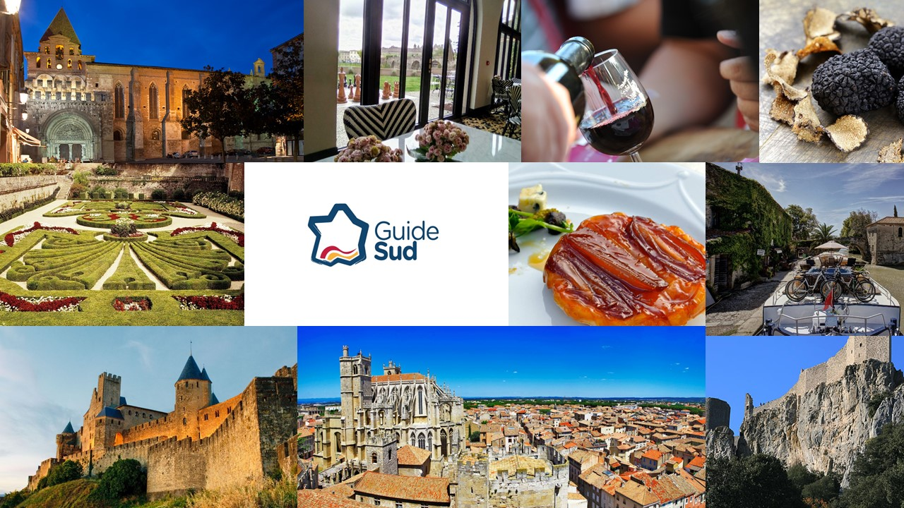 Guide sud DMC in Languedoc south of France